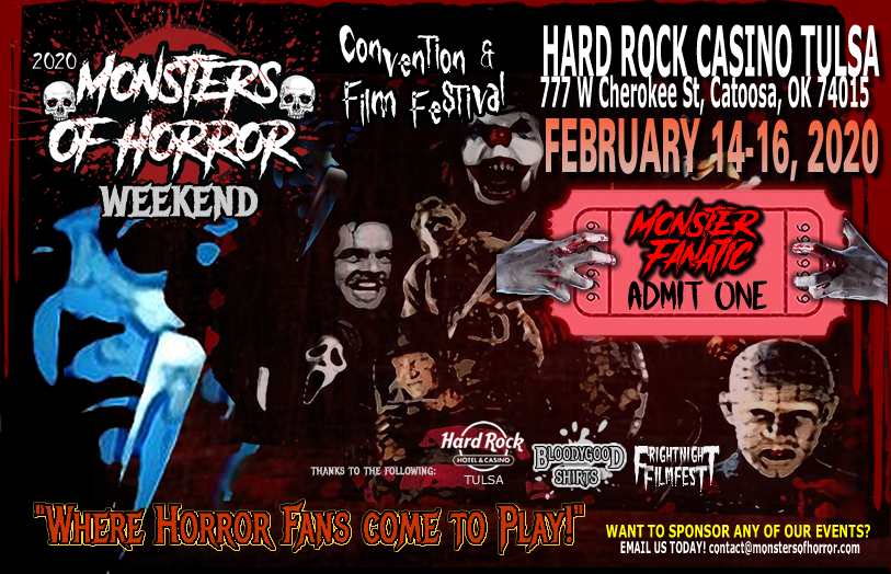 monsters of horror guests front page yellow web